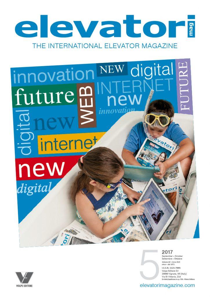 Elevatori Magazine 5/2017, il primo numero della rivista con il nuovo nome