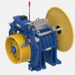 Montanari – Sollevate fino a 2.500 kg a 4 m/s con il gearless MGX53