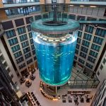 ACQUADOM: the incredible 82ft-tall hotel aquarium