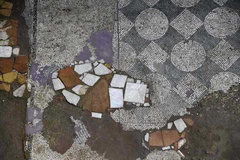 Roma, Metro C - Amba-Aradam Ipponio: ritrovamenti archeologici, febbraio 2018