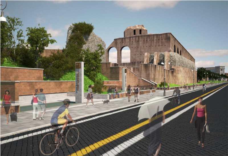 Roma, Metro C Fori imperiali