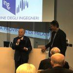 Prestigioso riconoscimento per l'ingegnere Giuseppe Volpe