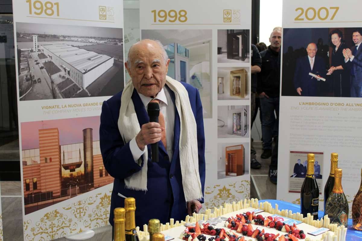 Compleanno ingegner Giuseppe Volpe