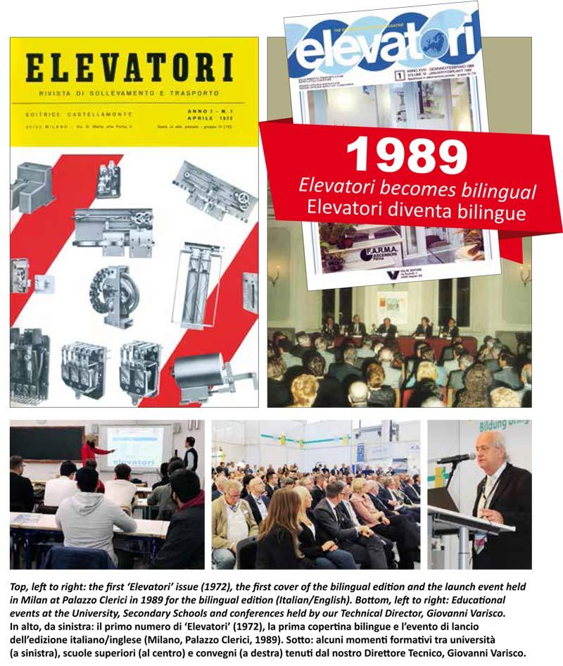 Elevatori Magazine e formazione