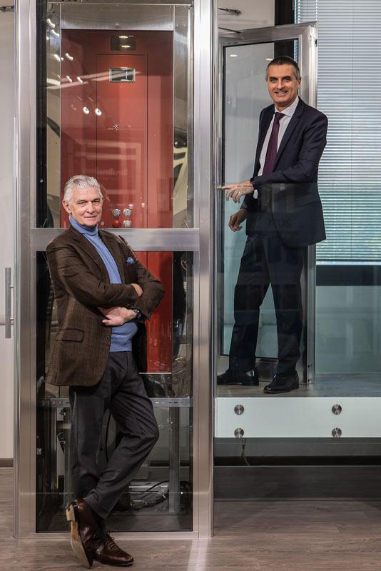 Micherle Suria, CEO di IGV Group e Giulio Cappellini