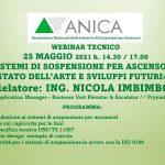 Il webinar Anica sulle funi