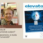 Is the lift a university subject?ELEVATORI MAGAZINE 3/2021: DISCOVER THE NEW ISSUE