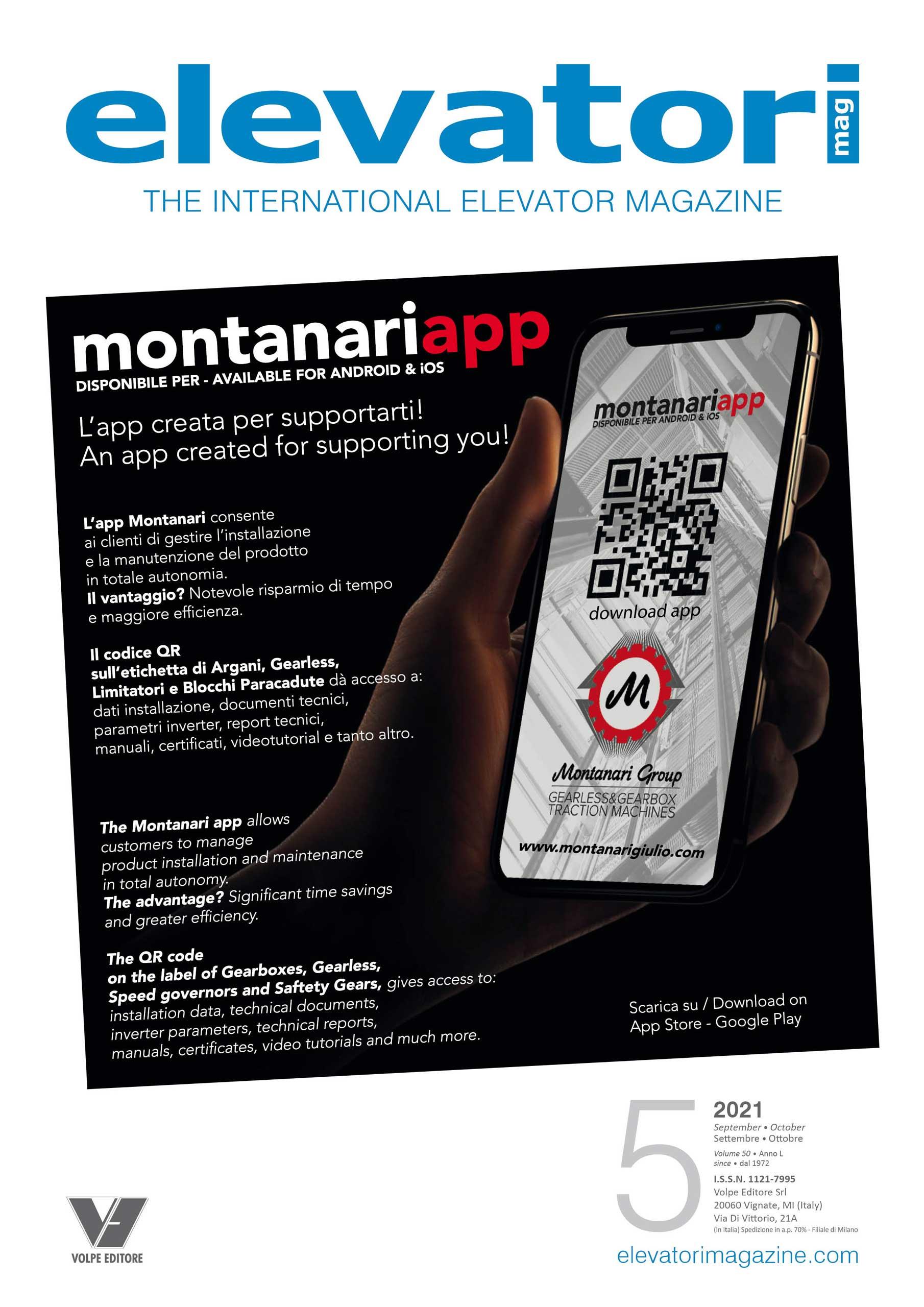 Elevatori Magazine 5/2021 Cover 1